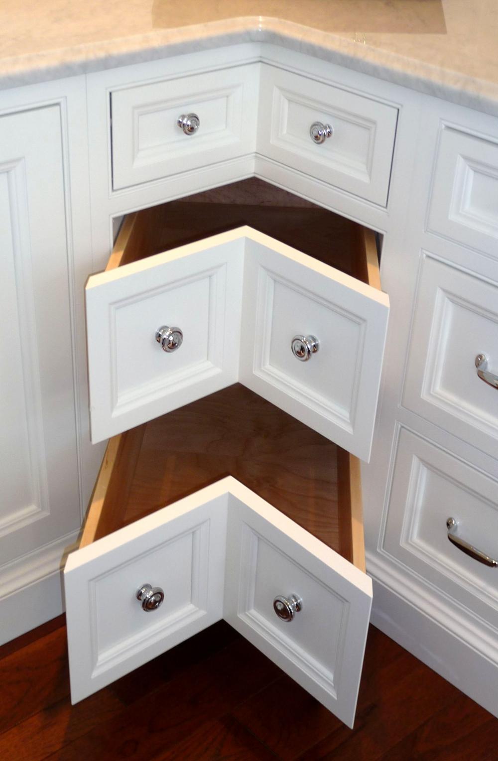 5 Lazy Susan Alternatives In 2020 Corner Kitchen Cabinet Corner Drawers Kitchen Remodel Design