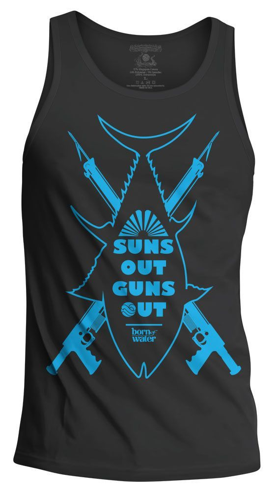 Suns Out Guns Out: Spearfishing Tank Top