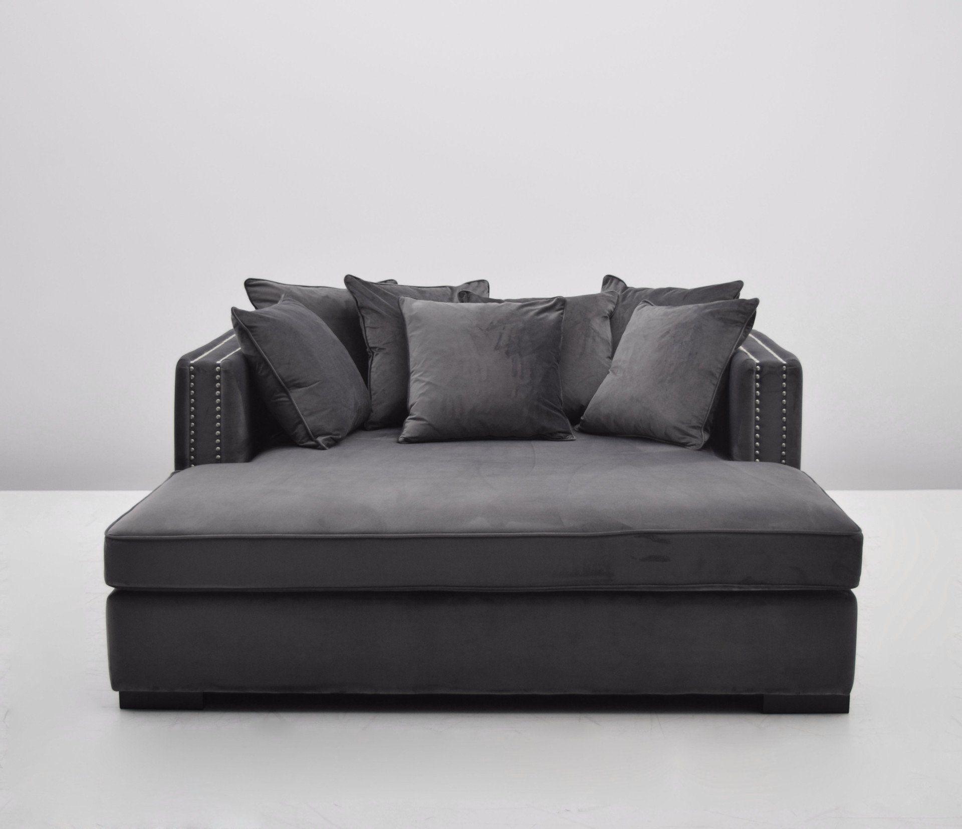 Velour Sofa manhattan daybed 1 grå velour daybed velour sofa and manhattan