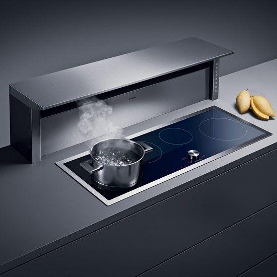 Kitchen Extractor Fan: Kitchen Extractor Fans #appliances #gaggenau #kitchen