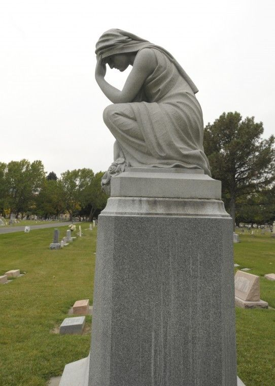Weeping Angel, Logan Cemetery, Logan, Utah  | Favorite