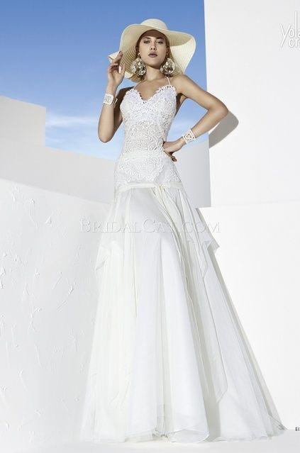 YolanCris - Eibar - Boho Girl Esküvői Ruhák f9aaac0eef