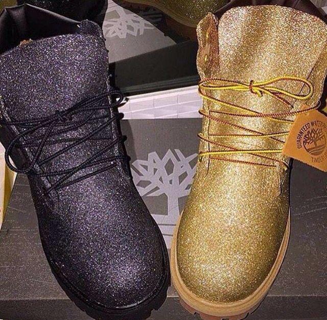 Onza Noroeste maximizar  Glitter Timbs | Timberland boots women, Boots, Timberland boots
