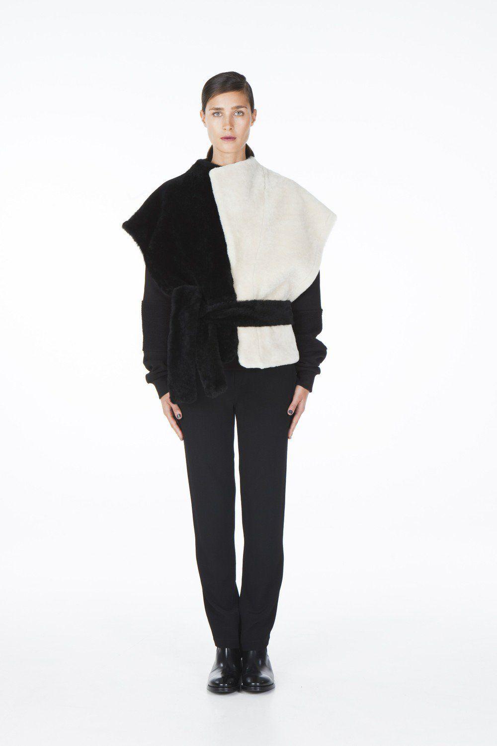 ONAR Ipek vest black