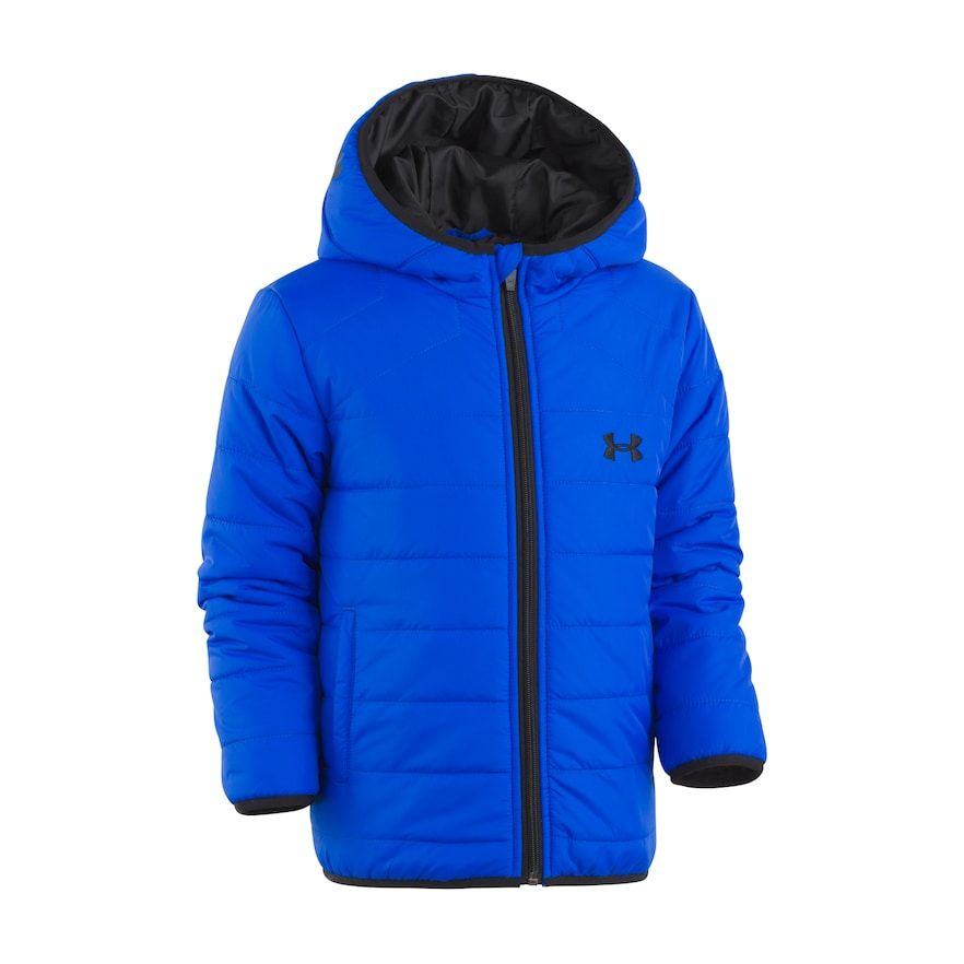45185b742a46 Toddler Boys Under Armour Solid Midweight Puffer Coat