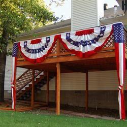 Patriotic Deck Decorating Kit   Patriotic Decorating ...