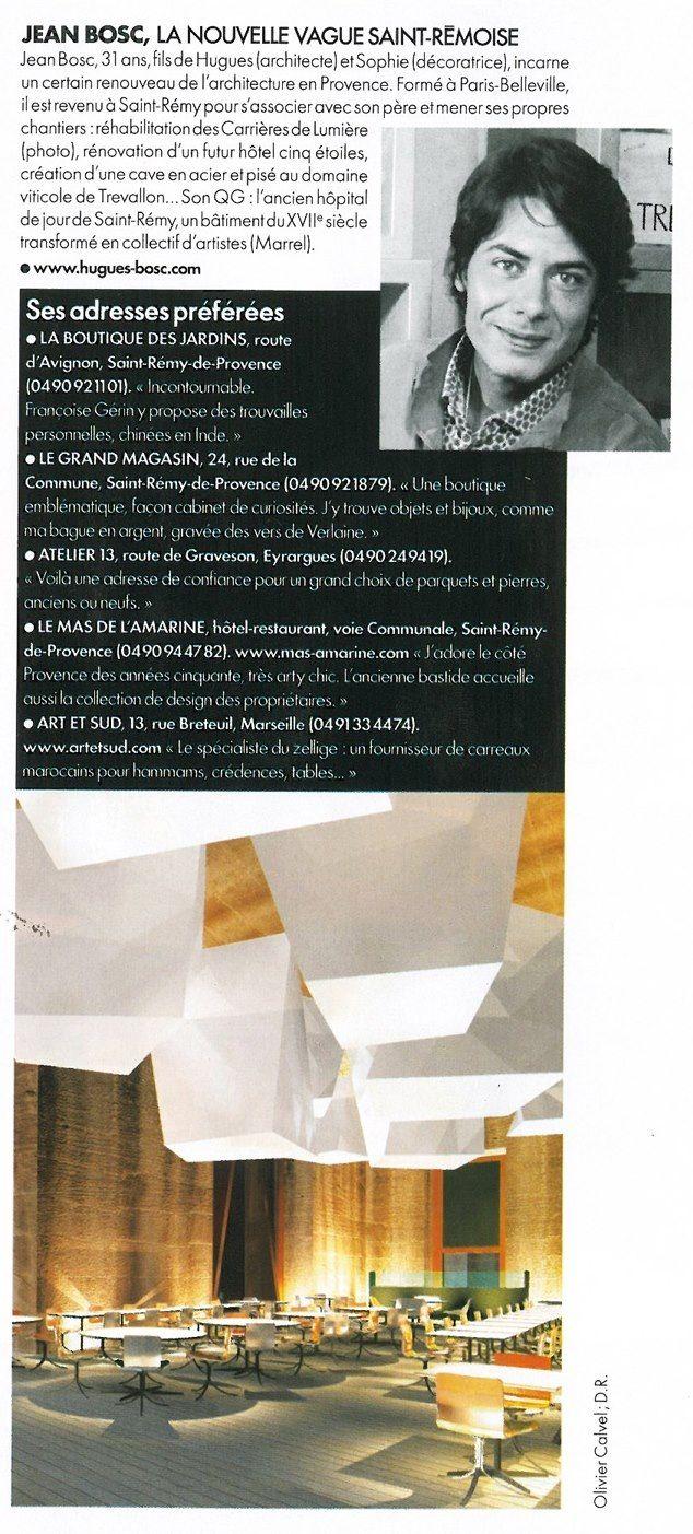 Bosc Architectes#Saint RemyDeProvence