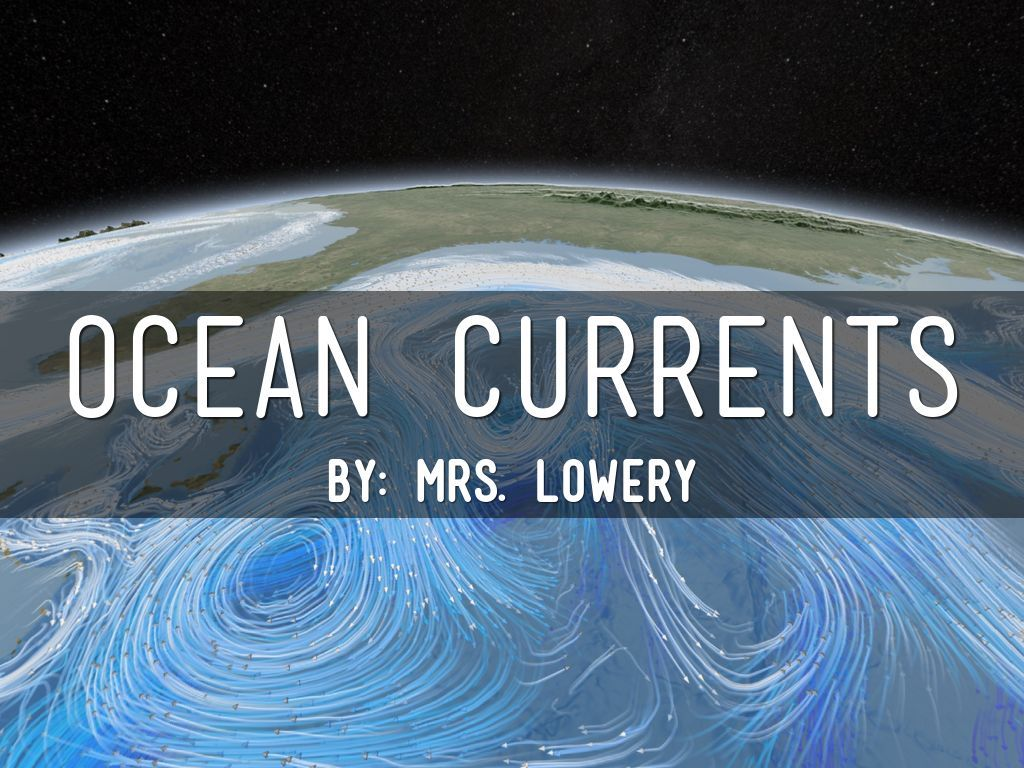 Ocean Currents By Jes Lowery