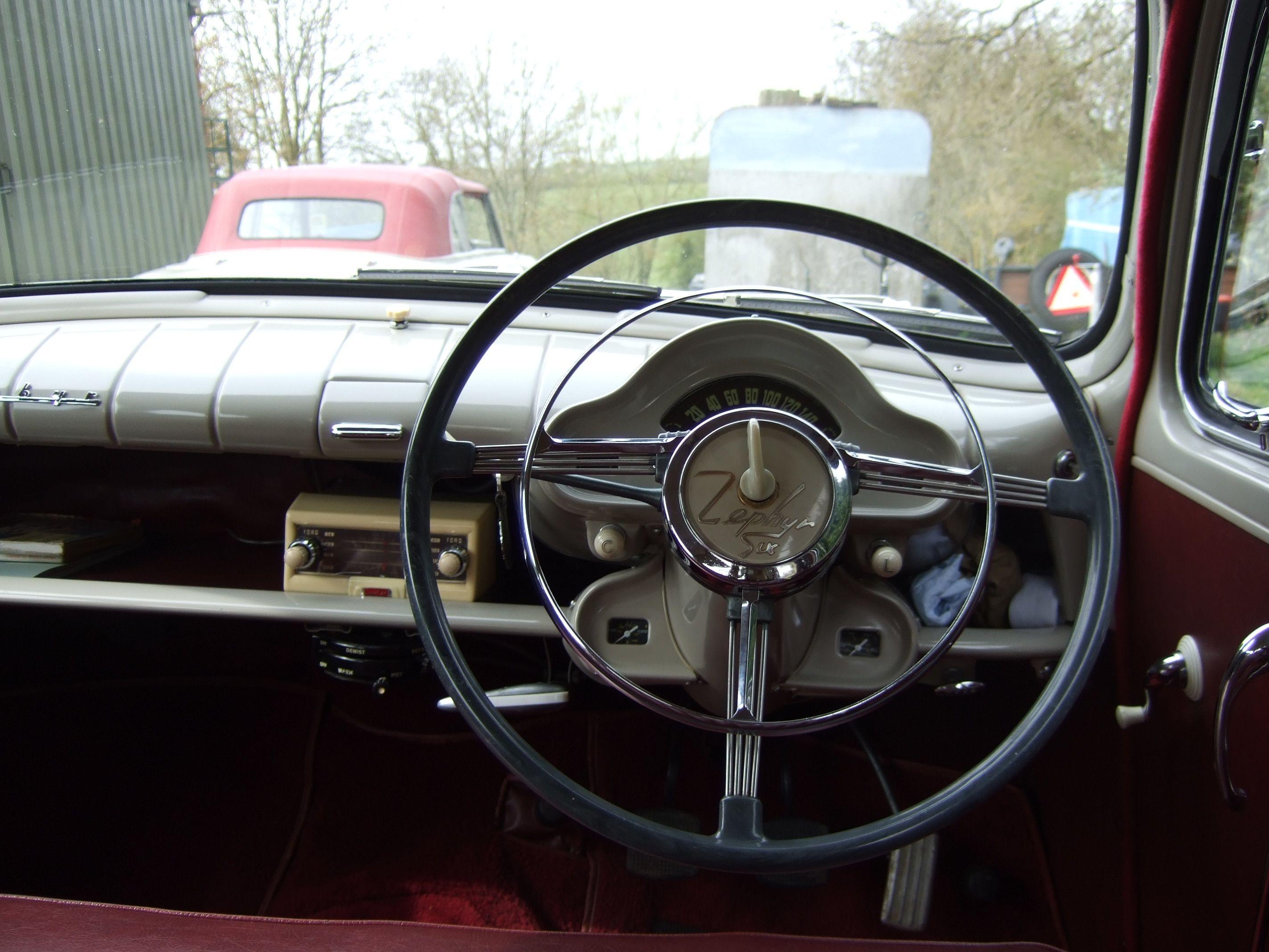 Mk1 Zephyr Saloon Steering Wheel Ford Zephyr Saloon Mk1