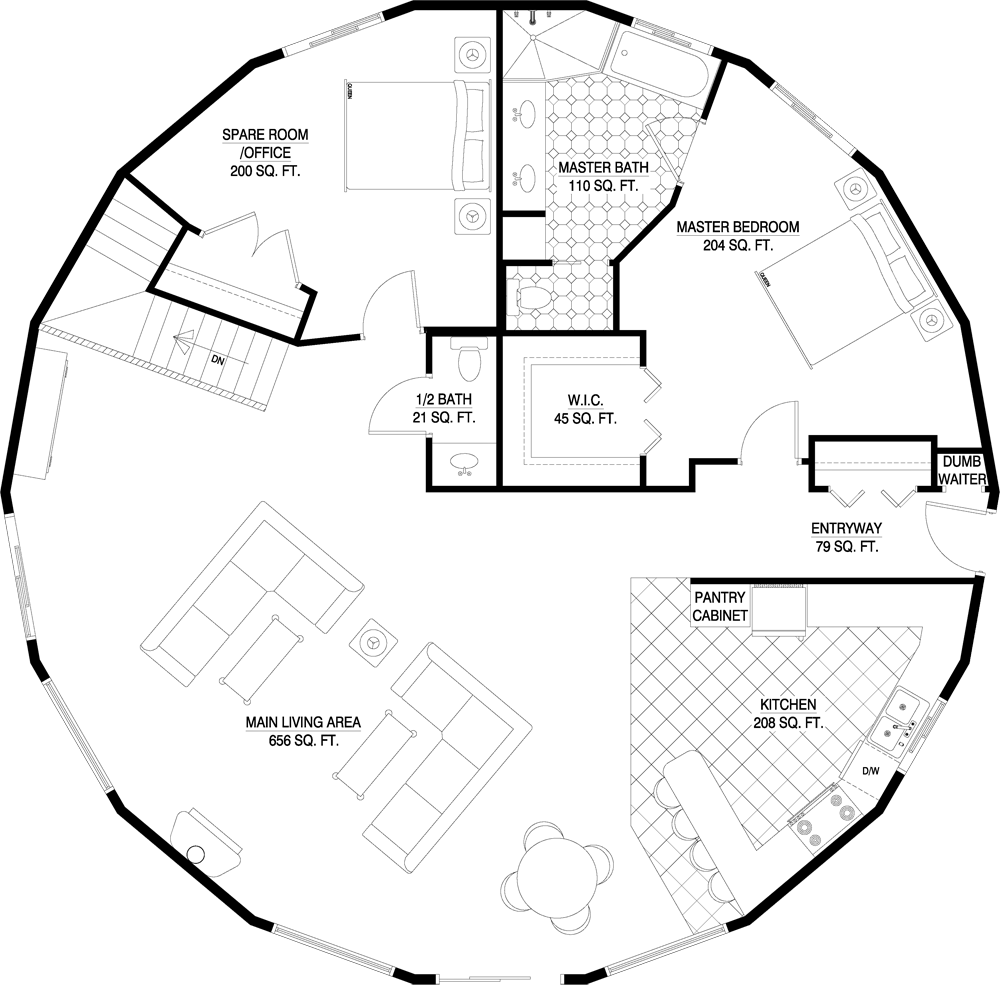 Floorplan Gallery Round Floorplans Custom Floorplans Floor Plans Custom Floor Plans Dome House