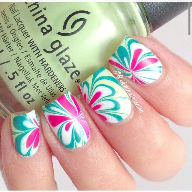 Beautiful watermelon color | Nail Art! | Pinterest | Decoración de ...