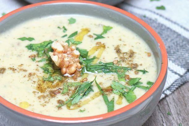 [Soup of the Week] Zucchini-Walnuss-Suppe
