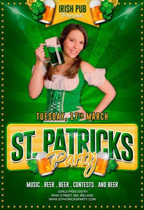 Free St Patricks Party Flyer Psd Template Httpfreepsdflyer