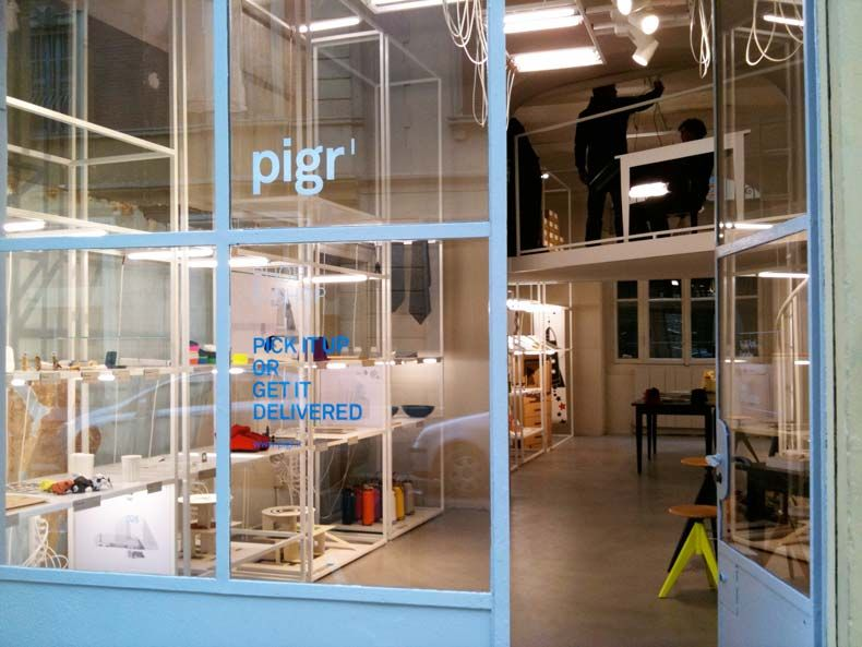 Home design and accessories shop pigr milano for Milano design shop