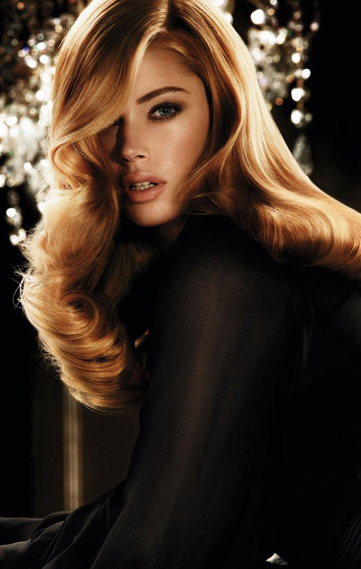 The Secret To Doutzen S Old School Hollywood Waves Advanced