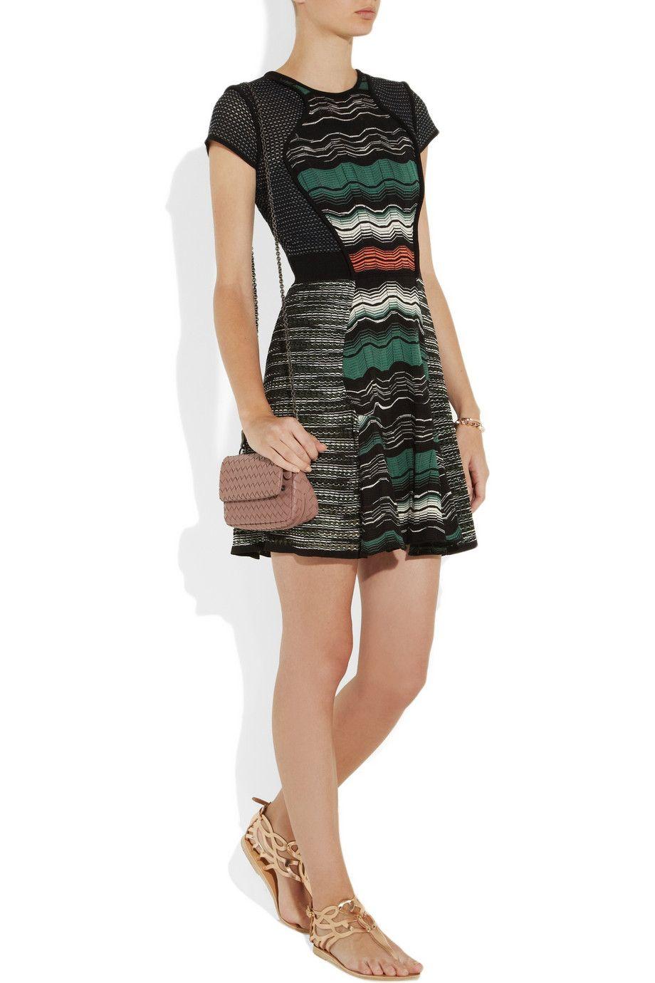 M Missoni | Crochet-knit dress | NET-A-PORTER.COM