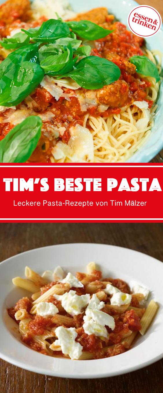 Pasta-Rezepte von Tim Mälzer