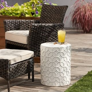 Sonoma Goods For Life Indoor Outdoor Textured Ceramic