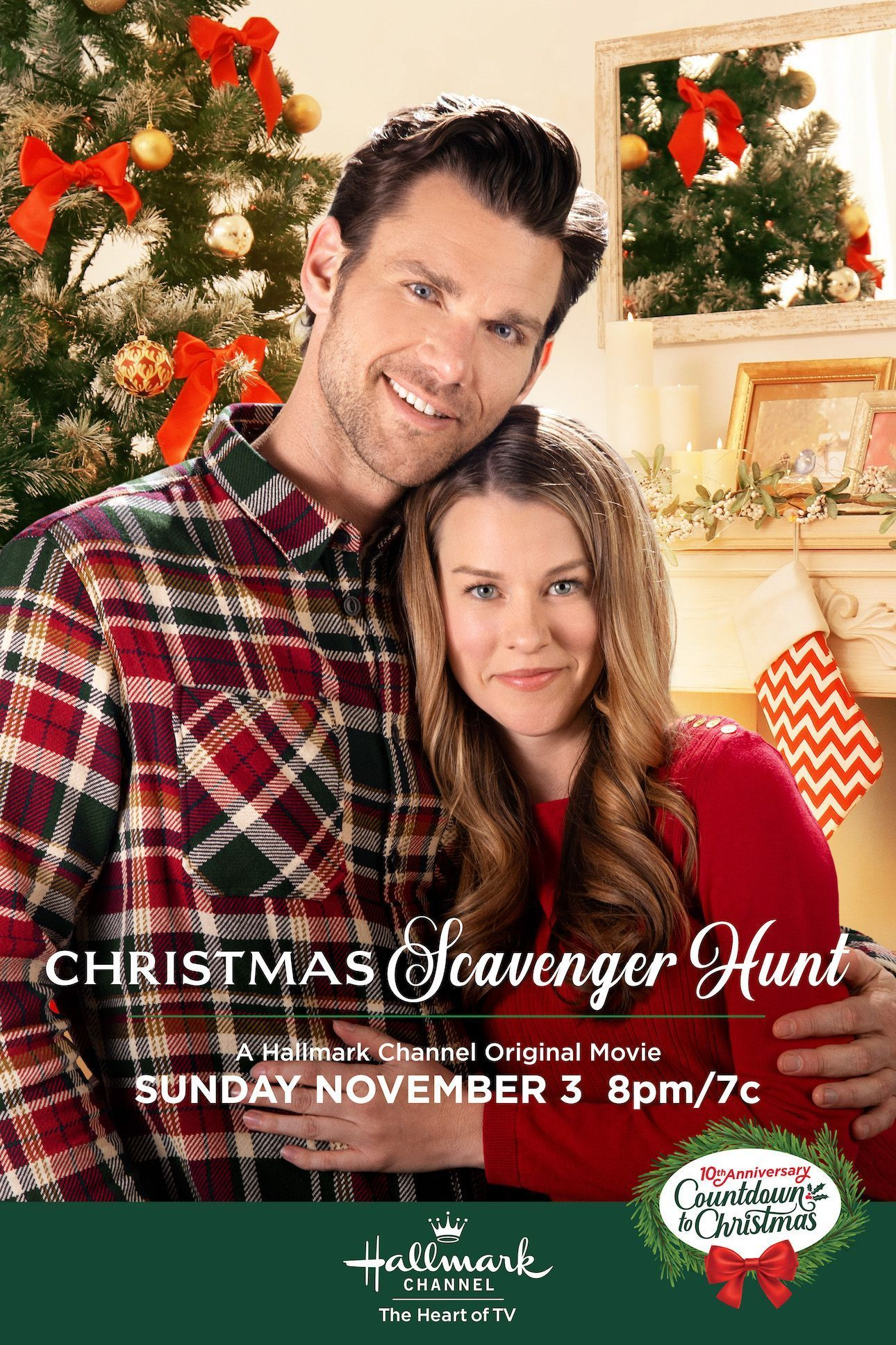 Make A Date For Christmas Scavenger Hunt Starring Kim Shaw And Kevin Mcg Hallmark Channel Christmas Movies Hallmark Christmas Movies Christmas Scavenger Hunt