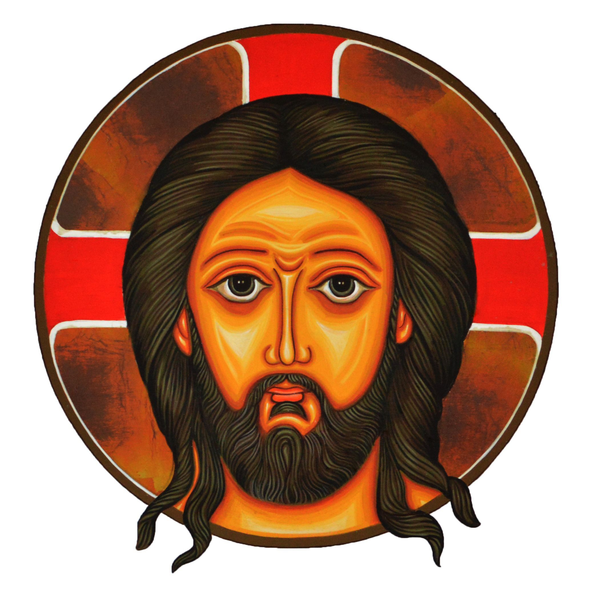 The Holy Face of Our Lord, painting on the Altar of St. Thomas Apostolic Seminary, Kottayam