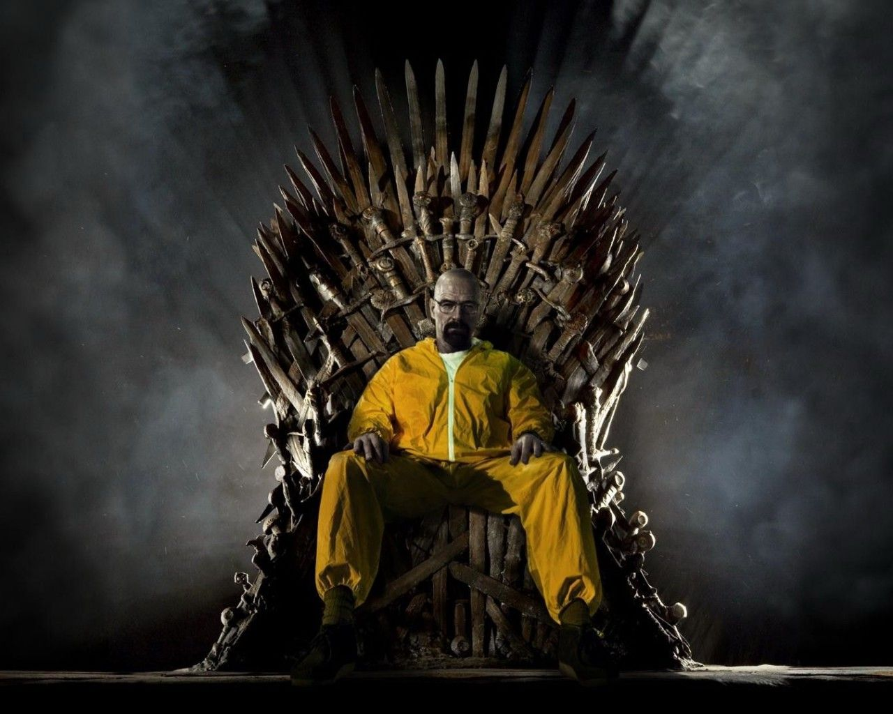 Heisenberg On The Iron Throne Breaking Bad Bitch In