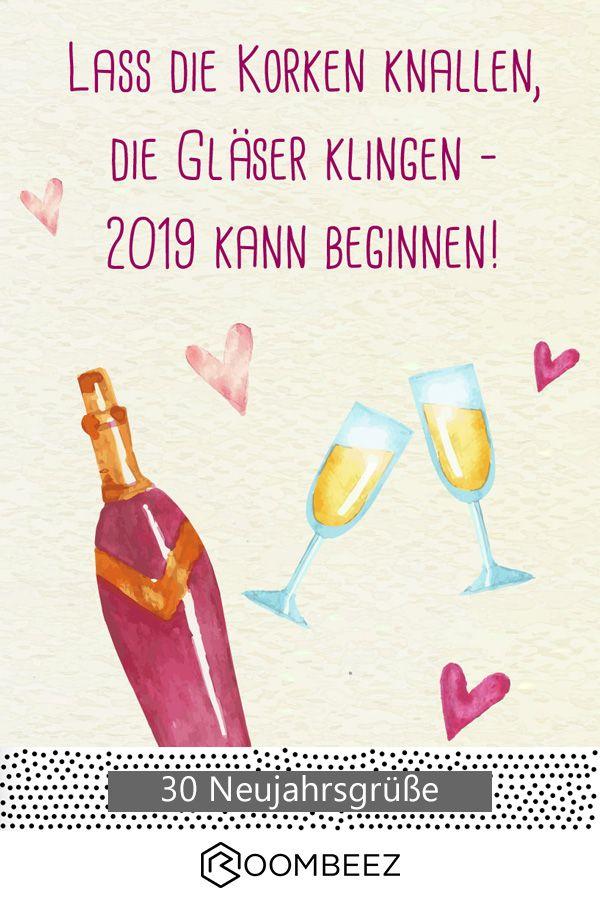 Neujahrsgrüße Kreative Neujahrswünsche Zum Download 2019