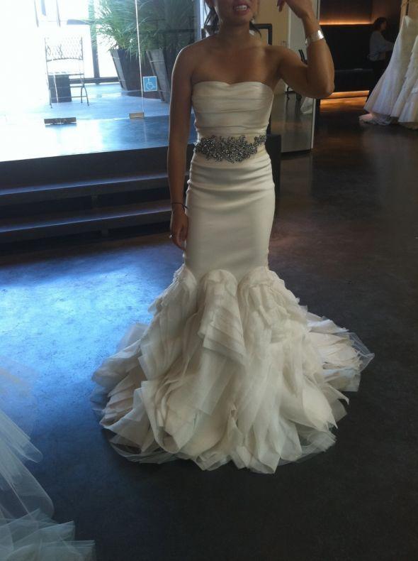 I think I found the dress   Wedding   Pinterest   Vera wang wedding ...