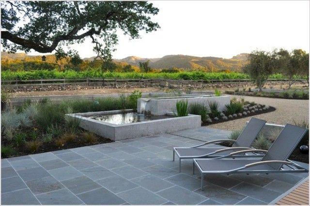 Idée aménagement terrasse  créez une zone aquatique Pinterest