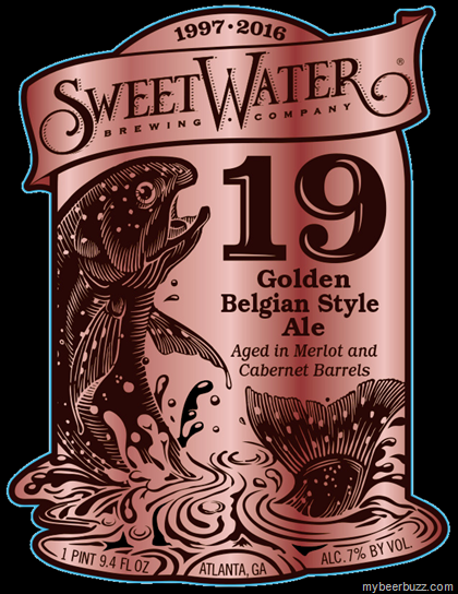mybeerbuzz.com - Bringing Good Beers & Good People Together...: SweetWater 19 - 19th Anniversary Golden Belgian St...
