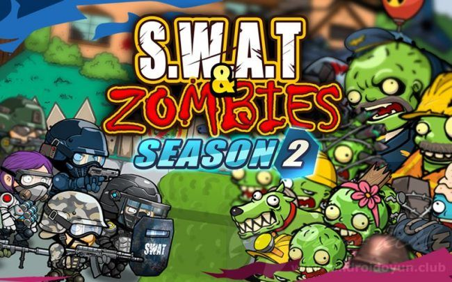 Swat And Zombies Season 2 V1 1 10 Mod Apk Para Hileli Mizah