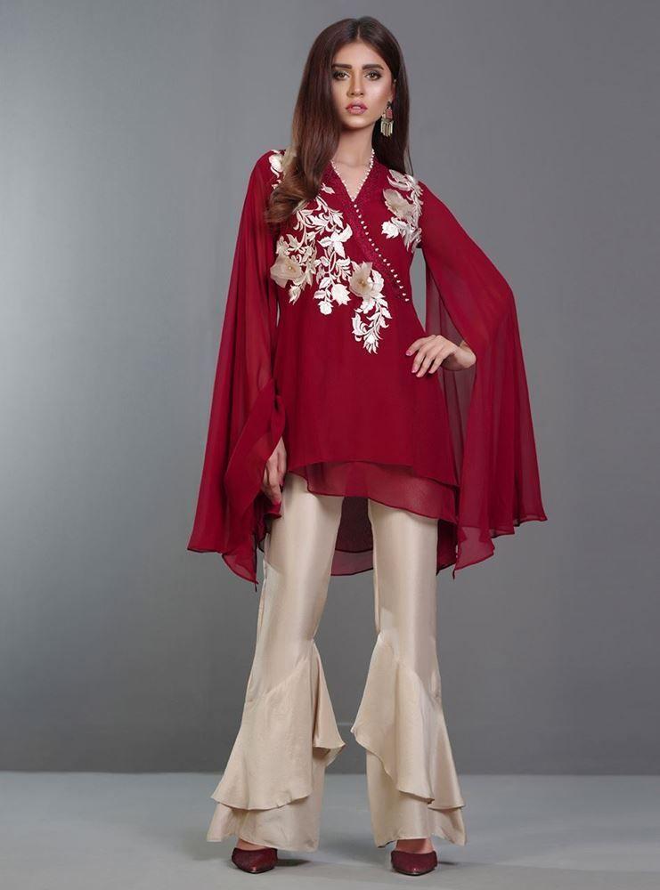 Simple dresses pakistani 2018 fashion