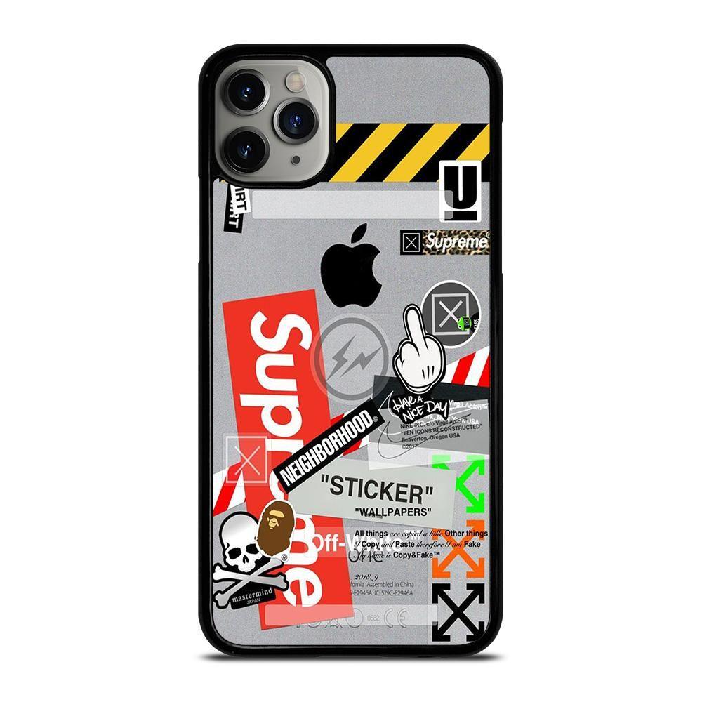 Off white supreme iphone 11 pro max case cover