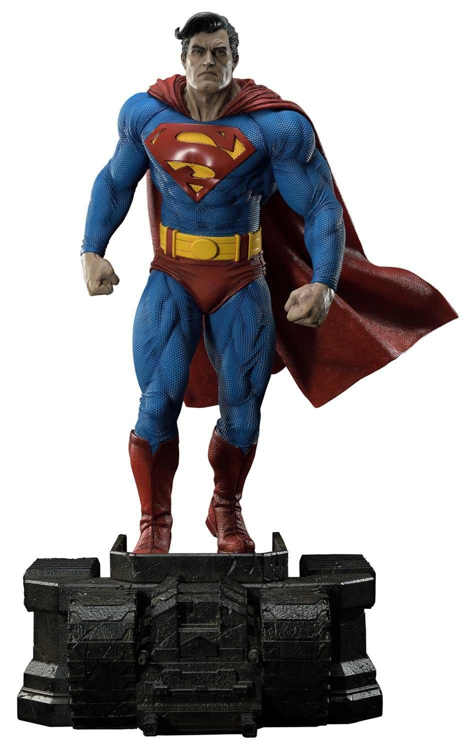 Batman The Dark Knight Returns Superman 34 Premium Statue