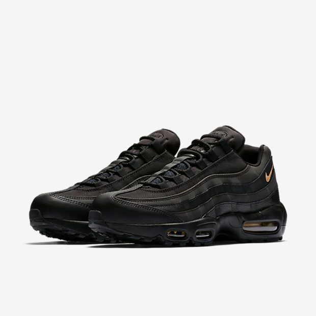 low priced 770a1 881a0 Nike Air Max 95 Premium Black Gold released on black friday. Did you cop