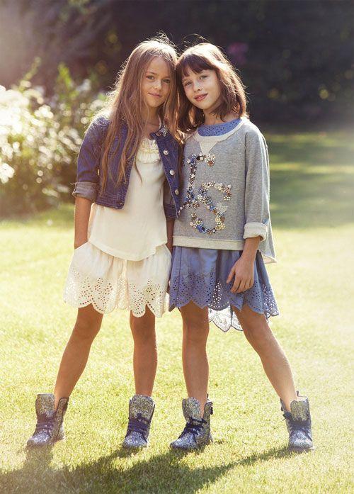 1dcf6e226e63 Look Bambine Primavera Estate 2015 Collezione Twin Set ...