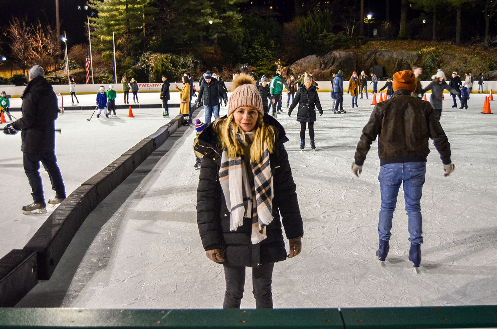 Wollman Rink, Pista de patinaje en Central Park