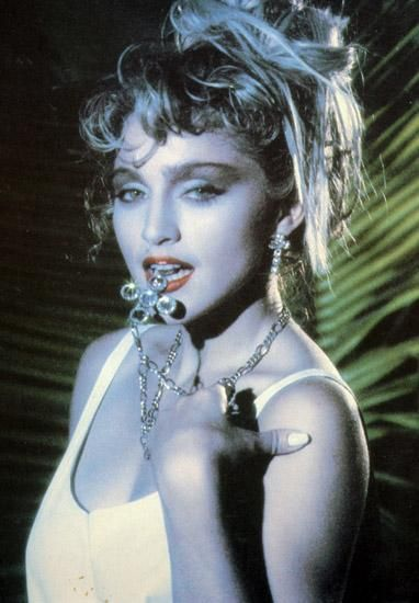 The Pictures In The 1986 Official Madonna Calendar Madonna