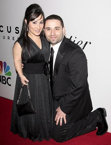 Meredith Eaton with handsome, Husband Brian S. Gordon