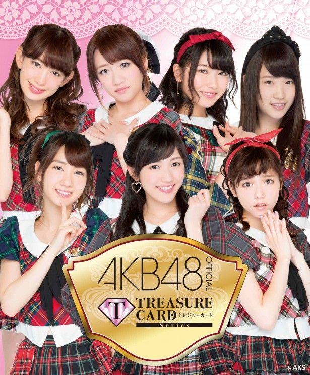 New 「AKB48 official TREASURE CARD」#AKB48