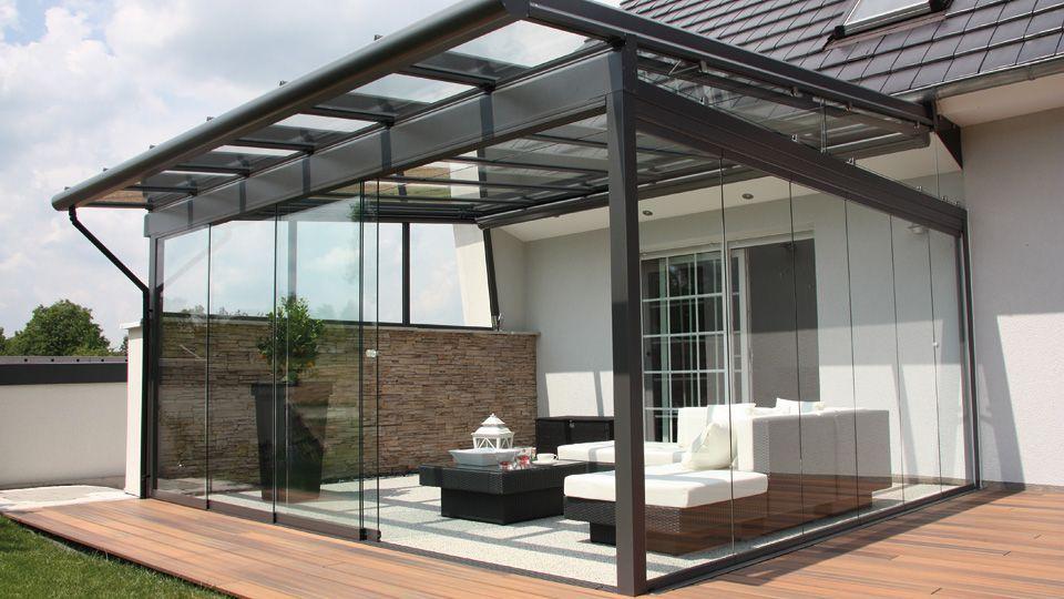 Gartenideen Terrassendacher Glasdacher Jalousien Huber Gmbh In 2020 Pergola Pergola Patio Patio Spaces