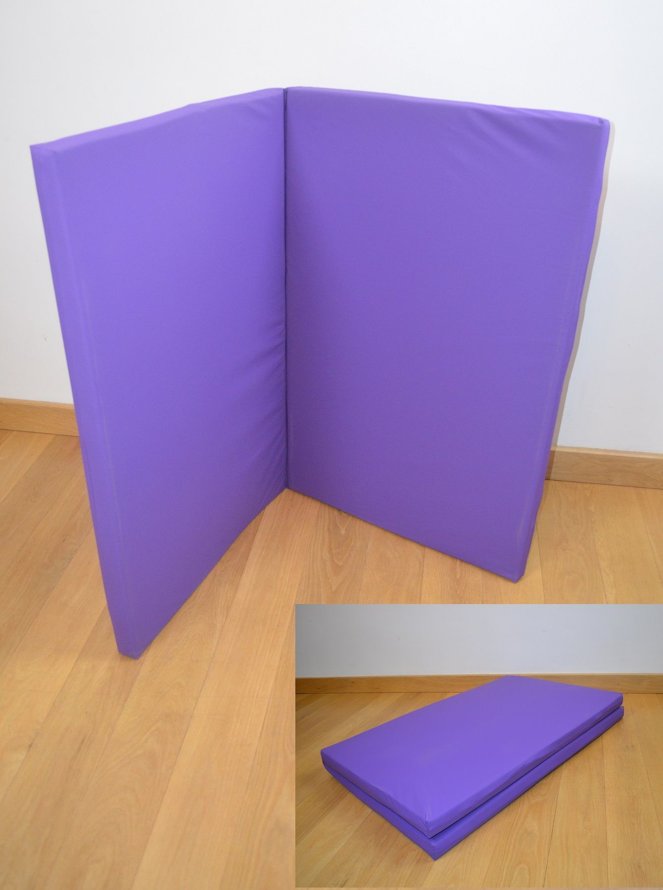 Folding Therapy Floor Mat is easy to take between venues