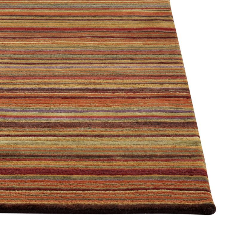 Gianni Rust Hand Knotted Wool 9 X12 Rug Crate And Barrel Rugs Wool Rug Crate And Barrel