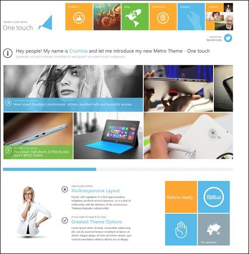 60+ Attractive Metro WordPress Themes To Wow Your Visitors   Web ...