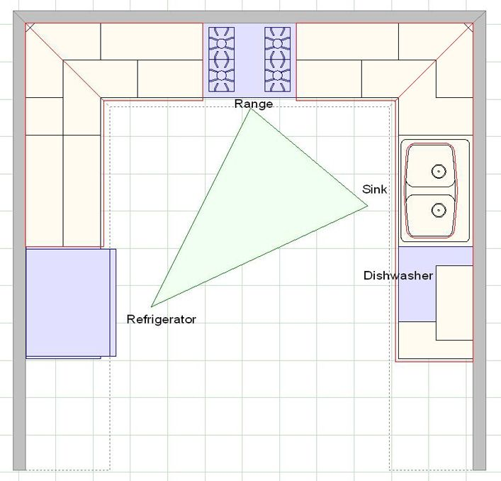 kitchen shapes visio home plan diagram stencils and templates - Visio Kitchen Template