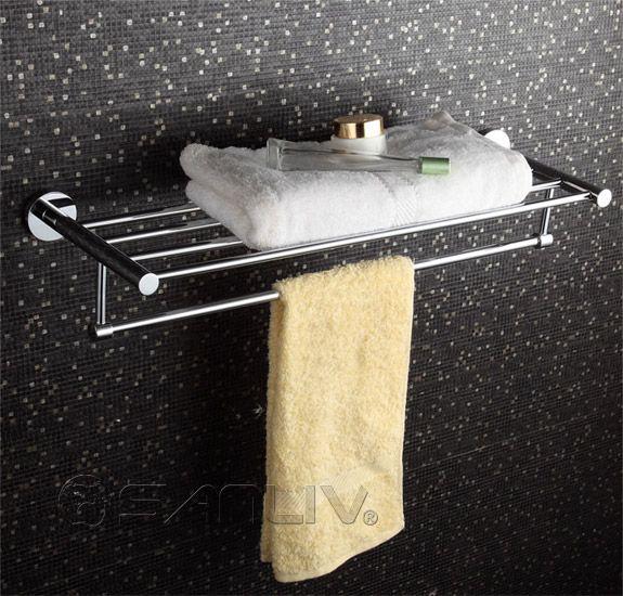 Perfect Hotel Towel Rack Shelf   Hotel Bathroom Fittings U0026 Accessories   Part 2