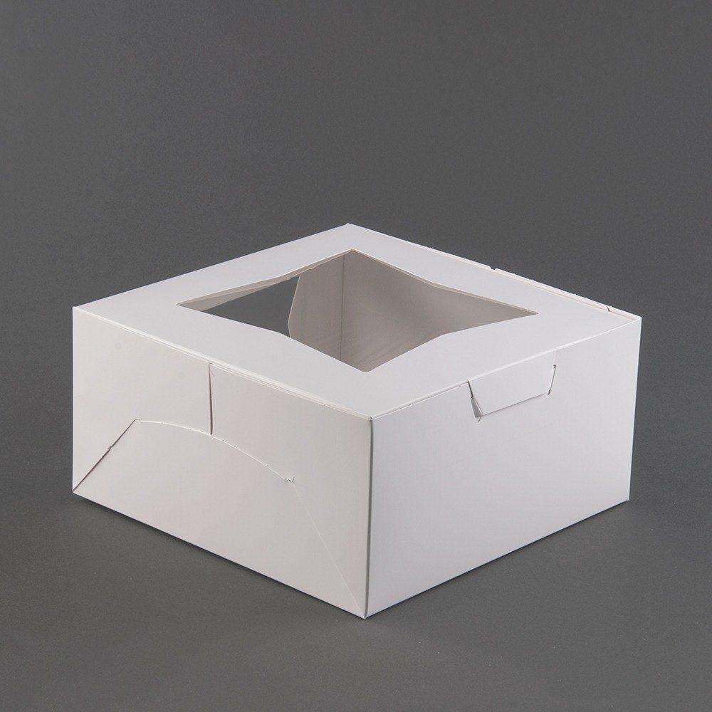 10 X 10 X 5 White Window Cake Bakery Box 150 Bundle Bakery Box Bakery Cakes Bakery