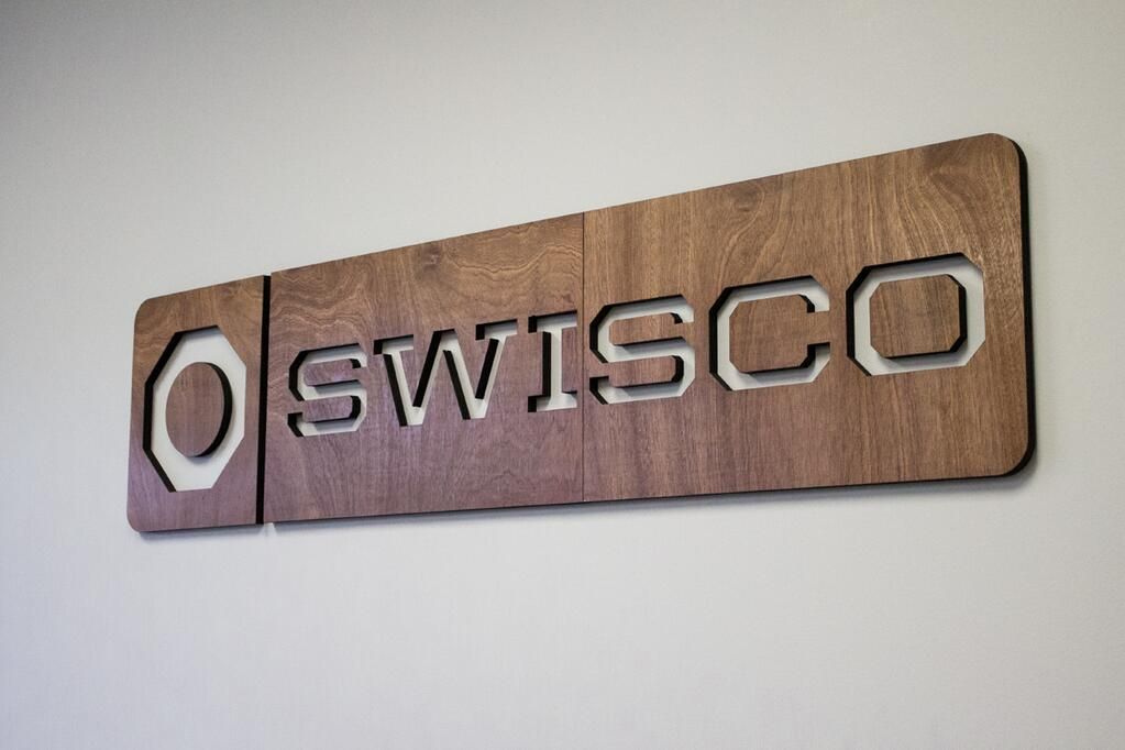 Our New Entrance Sign For Swisco By Tinkering Monkey