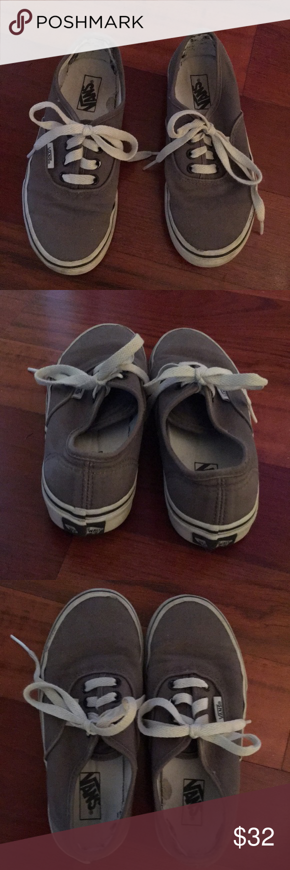 Kids Vans Size 1 Worn Once! Clothing, Shoes & Accessories