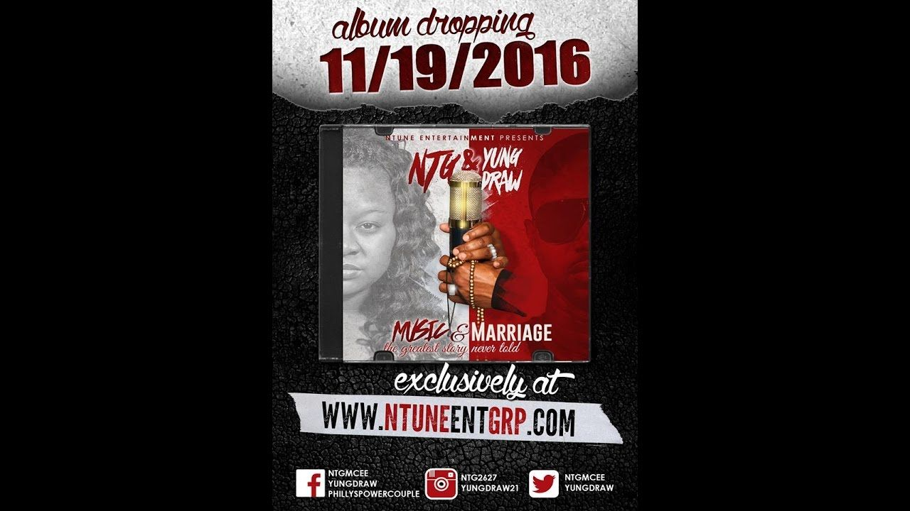 """Hip Hop Albums """"Music & Marriage"""" PreOrder today"""