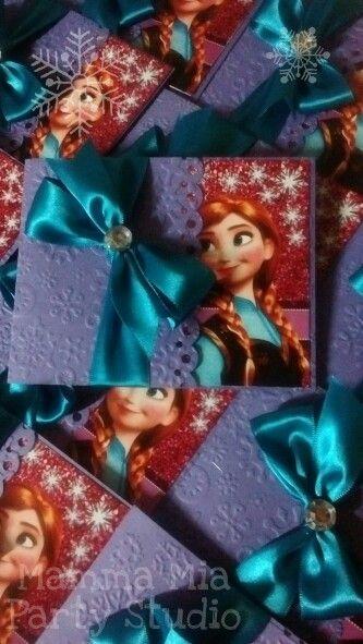Invitaciones Ana de Frozen